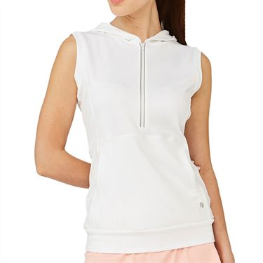 Lija Noble Pure Pullover Womens White 20S 6501T3