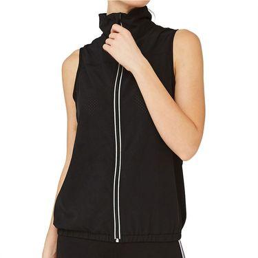 Lija Pindot Sonic Vest Womens Black/Periwinkle/Grotto Blue 20S 6520T2