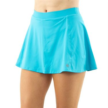 Lija You are My Sunshine Flounce Skirt Womens Turquoise 21A 4606T1
