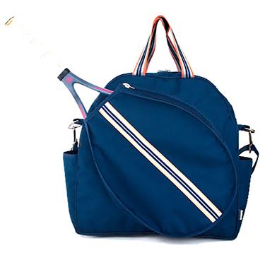 Cinda B Tennis Tote - Indigo Blue