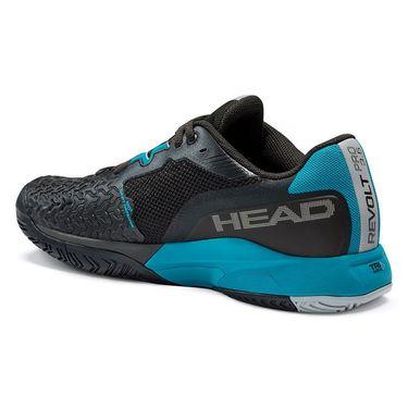 Head Revolt Pro 3.5 Mens Tennis Shoe Black/Teal 273121