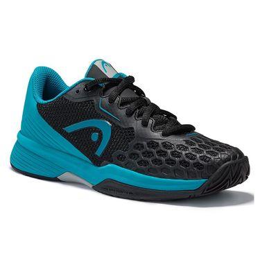 Head Revolt Pro 3.5 Junior Tennis Shoe - Black/Teal