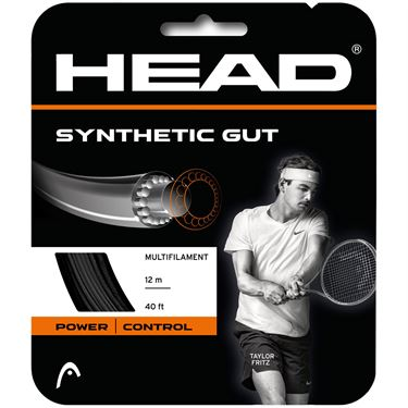 Head Synthetic Gut Black 16G Tennis String