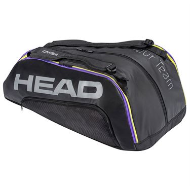 Head Tour Team 12 Racquet Monstercombi Tennis Bag - Black/Purple