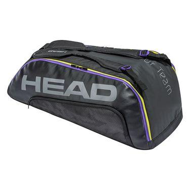 Head Tour Team 9 Racquet Combi Tennis Bag - Black/Purple