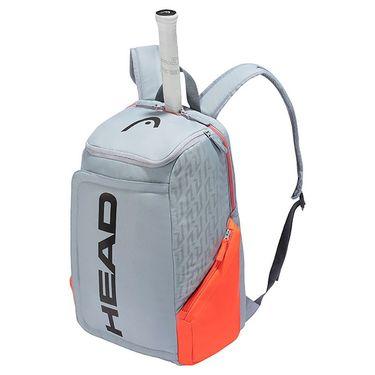 Head Radical Rebel Tennis Backpack - Grey/Orange