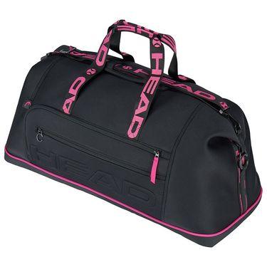 Head Coco Duffle Tennis Bag - Black/Pink