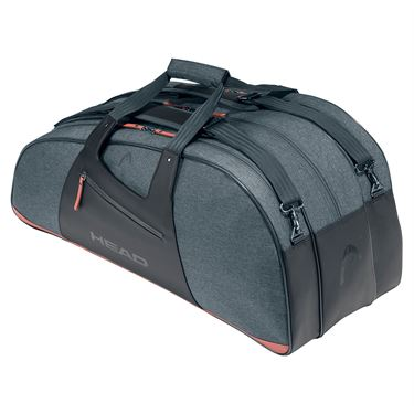 Head Womens Combi 6 Pack Tennis Bag - Anthracite