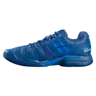 Babolat Propulse Blast All Court Mens Tennis Shoe Dark Blue Viridian 30F21442 4090