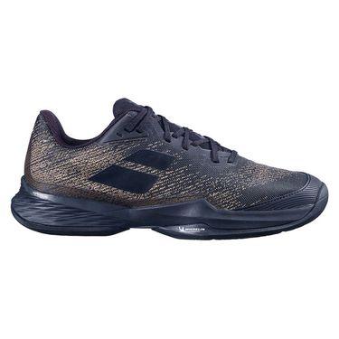 Babolat Jet Mach 3 All Court Wide Mens Tennis Shoe Black Gold 30F21846 2031