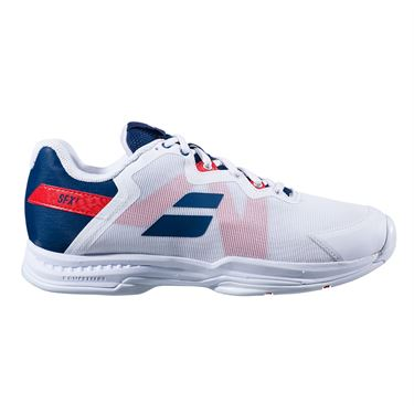 Babolat All Court SFX3 Mens Tennis Shoes White/Estate Blue 30S20529 1005