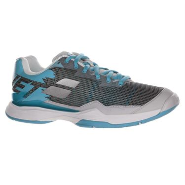 Babolat Jet Mach I All Court Womens Tennis Shoe Silver/Horizon Blue 31F19651 3013