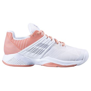 Babolat Propulse Fury All Court Womens Tennis Shoe White/Coral 31F20477 1038