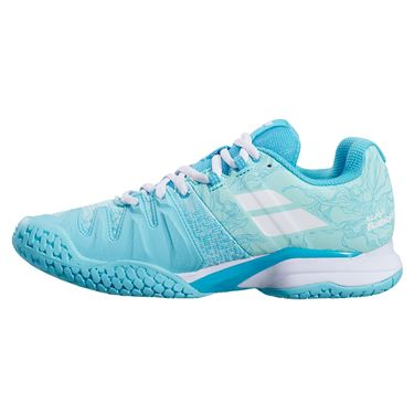 Babolat Propulse Blast All Court Womens Tennis Shoe Tanager Turquoise 31F21447 4079