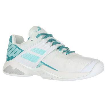 Babolat Propulse Fury All Court Womens Tennis Shoe - White/Mint Green