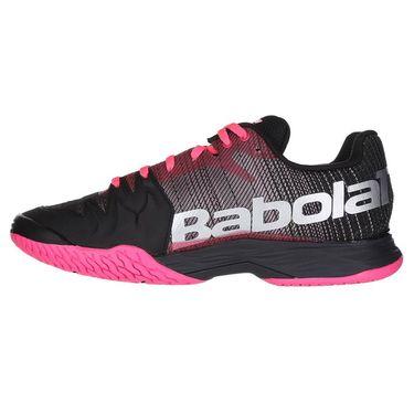 Babolat Jet Mach II All Court Womens Tennis Shoe (RUNS SMALL - SIZE UP 1/2 SIZE)- Pink/Black
