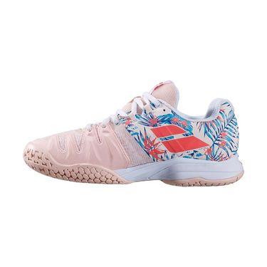 Babolat Propulse Blast All Court Womens Tennis Shoe Silver Peony/Flower 31S20447 5044