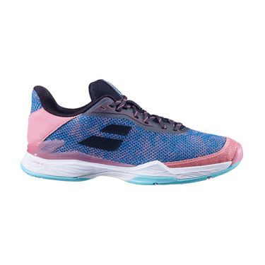 Babolat Jet Tere All Court Womens Tennis Shoe Blue/Pink 31S20651 4069