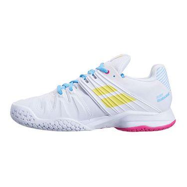 Babolat Propulse Fury All Court Womens Tennis Shoe White/Sulphur Spring 31S21477 1064û