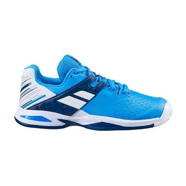 Babolat Junior Propulse All Court Tennis Shoe White/Blue Aster 32S20478 1030