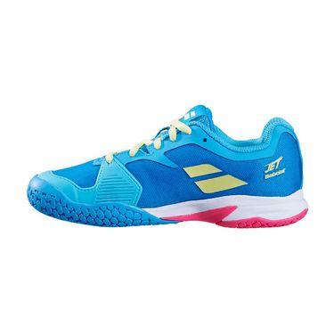 Babolat Junior Jet All Court Tennis Shoe Capri Breeze/Pink 32S20647 4066