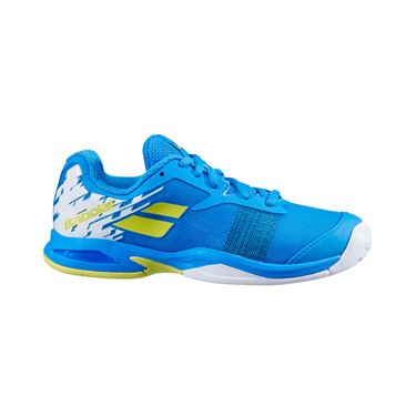 Babolat Junior Jet All Court Tennis Shoe Malibu Blue 32S20648 4062