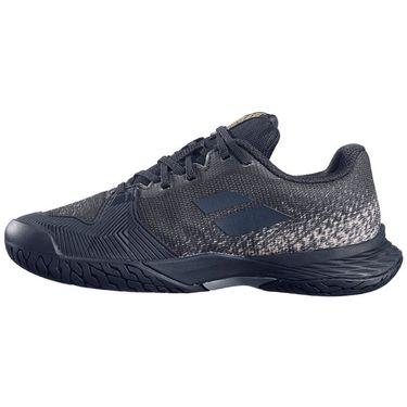 Babolat Junior Jet Mach 3 Tennis Shoe - Black/Gold