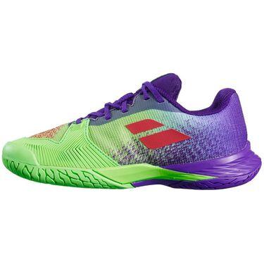 Babolat Junior Jet Mach 3 Tennis Shoe - Jade Lime
