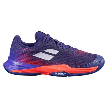 Babolat Junior Jet Mach 3 All Court Tennis Shoe Blue Ribbon 32F21648 4093
