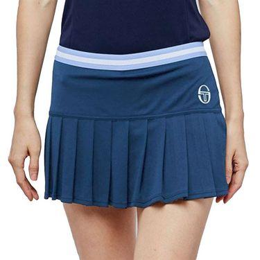 Sergio Tacchini Pliage Skirt Womens Campanula/White 38485 295