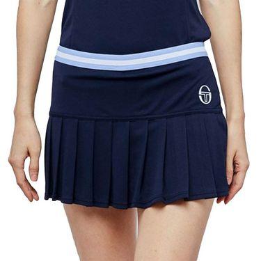 Sergio Tacchini Pliage Skirt Womens Navy/White 38485 297
