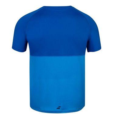 Babolat Play Crew Shirt Mens Blue Aster 3MP1011 4049S