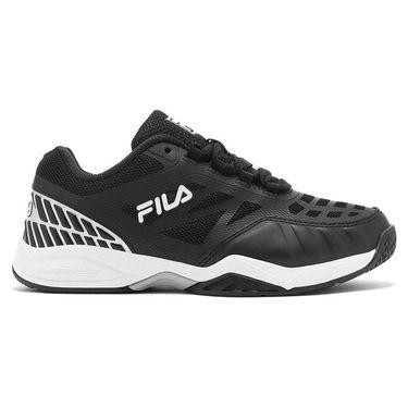 Fila Junior Axilus 2 Tennis Shoe Black/White 3TM01229 003
