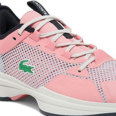 Lacoste AG LT 21 Womens Tennis Shoe Pink/Black 742SFA0067 8F8