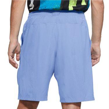 Nike Court Flex 11 inch Woven Short Mens Aluminum/Black 455618 468