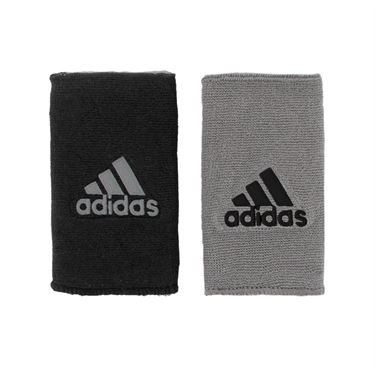 adidas Interval Double Wide Reversible Wristband 5133926