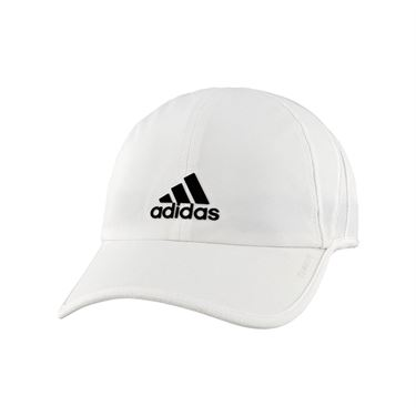 adidas Mens SuperLite Hat - White/Black