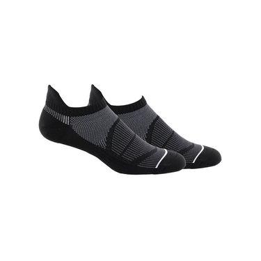 adidas Superlite Prime Mesh III Tabbed No Show Sock (2 Pack) - Black/Onix