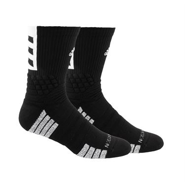 adidas Creator 365 Crew Sock - Black/White