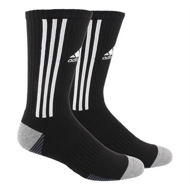 adidas Tiro Crew Sock - Black/White/Onix/Heather Grey