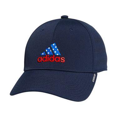 adidas Americana Gameday Stretch Fit Hat L/XL - Navy