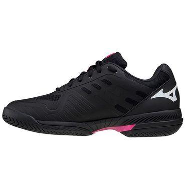 Mizuno Wave Exceed SL 2 Womens Tennis Shoe Black/White 550032 9000