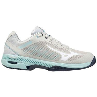 Mizuno Wave Exceed SL 2 Womens Tennis Shoe Grey/Light Blue 550032 9R00