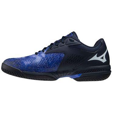 Mizuno Wave Exceed Tour 4 Mens Tennis Shoe Violet Blue/Indigo White 550033 6Y0B