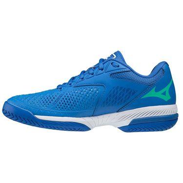 Mizuno Wave Exceed Tour 4 Womens Tennis Shoe Nebulas Blue/White 550034 5V00