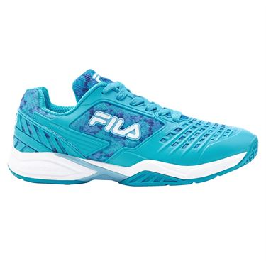 Fila Axilus 2 Energized Womens Tennis Shoe Blue/White 5TM01574 466