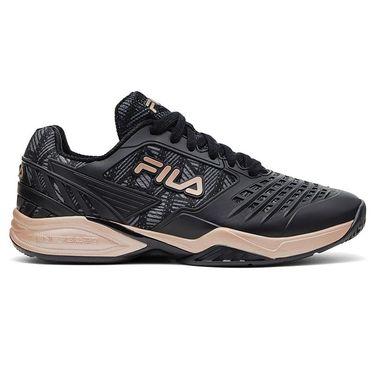 Fila Axilus 2 Energized Womens Tennis Shoe Black/Rose Gold 5TM01575 011