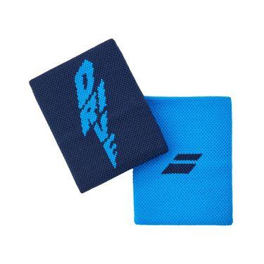 Babolat Logo Jumbo Wristband Drive - Blue