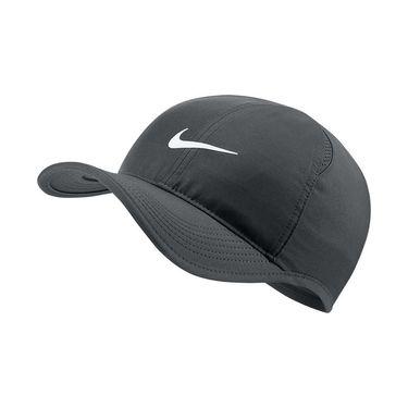 Nike Featherlight Hat - Grey/Black/White