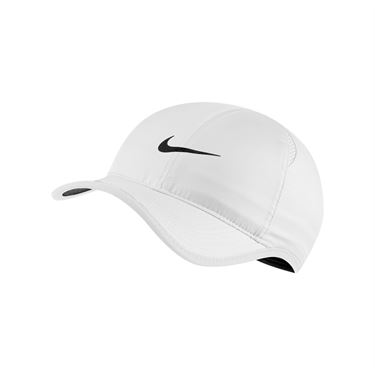 Nike Court Aerobill Feather Light Hat - White